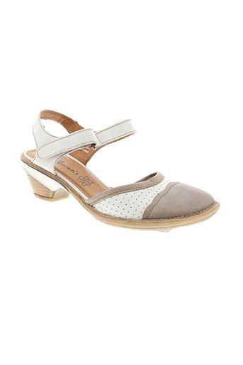 moran et s sandales et nu et pieds femme de couleur blanc