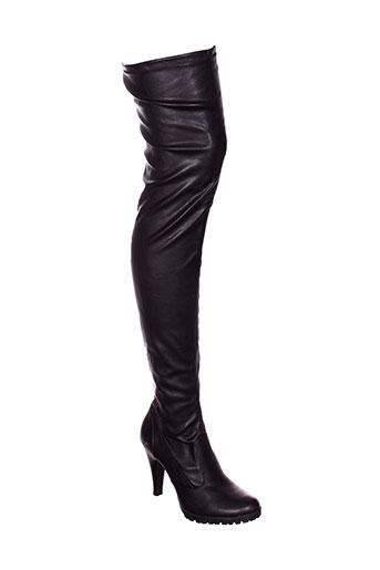gino et ventori bottes femme de couleur noir
