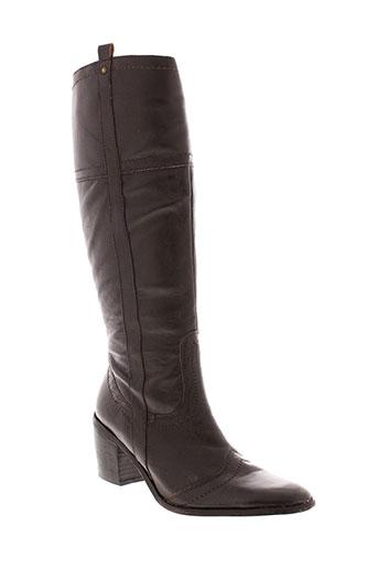 jalouse bottes femme de couleur marron