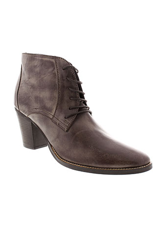 cosmopolitan boots femme de couleur marron