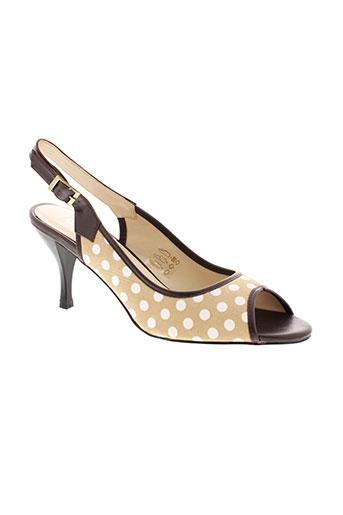 cosmopolitan chaussures femme de couleur beige