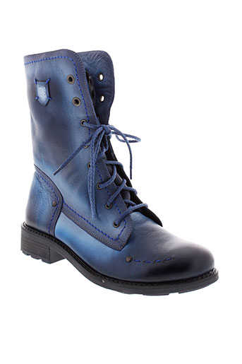 maciejka et obuwie boots femme de couleur bleu