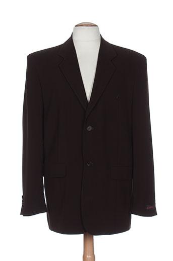 kamao vestes homme de couleur marron