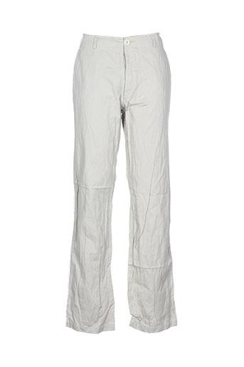 Pantalon casual beige HANNOH pour homme