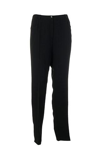 francoise f pantalons homme de couleur noir