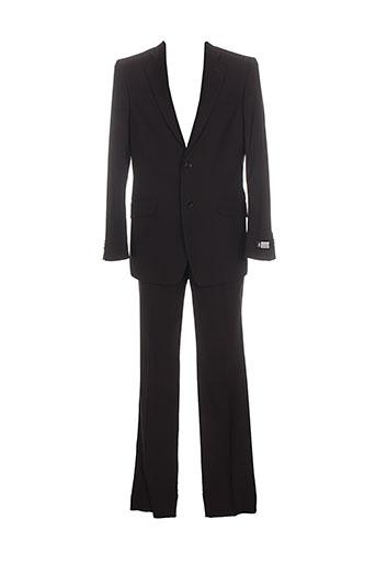 optimal pantalon et veste homme de couleur noir
