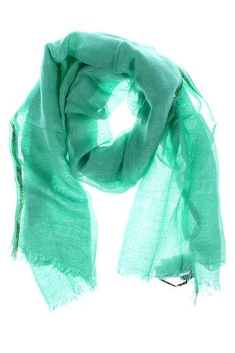 caroll accessoires femme de couleur vert