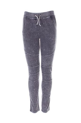 beckaro pantalons et decontractes fille de couleur gris
