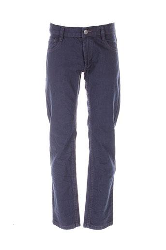 nukutavake pantalons et decontractes garcon de couleur bleu