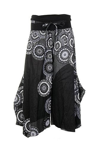 aller simplement pantalons femme de couleur noir