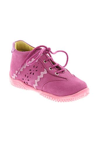 little mary chaussures fille de couleur rose