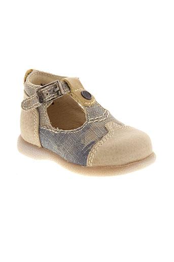 little mary chaussures garçon de couleur beige
