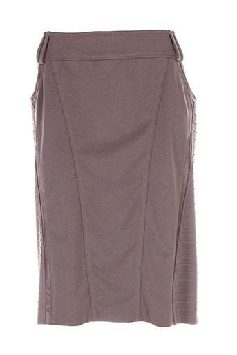 jean gabriel jupes femme de couleur marron