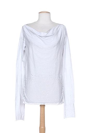 denim deluxe t-shirts femme de couleur gris
