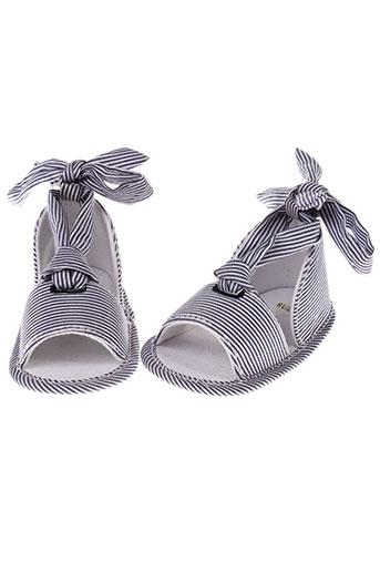 absorba sandales et nu et pieds fille de couleur bleu