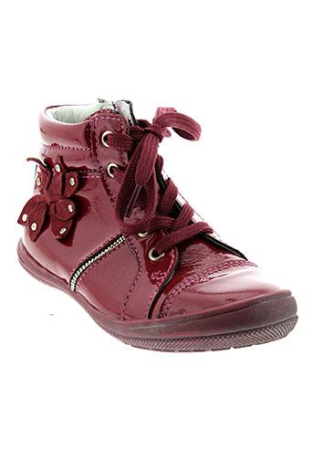 gbb boots fille de couleur rose