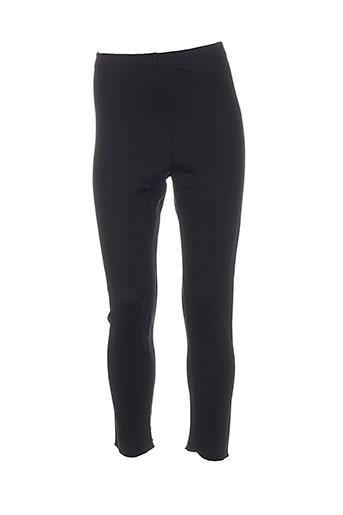 galbeo pantalons femme de couleur noir