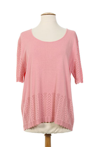 daneva t-shirts femme de couleur rose