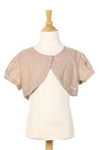 jean bourget vestes fille de couleur rose