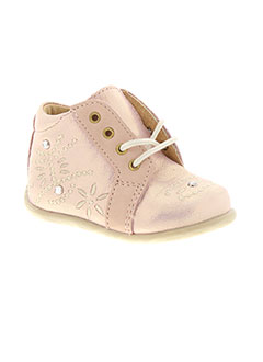 Chaussures Minibell roses fille YATHg3