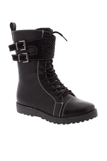 gioseppo kids chaussures fille de couleur noir