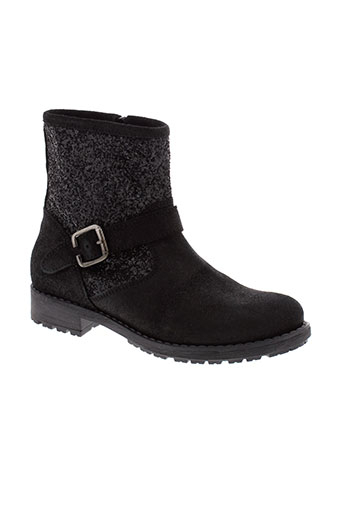 reqins boots fille de couleur noir