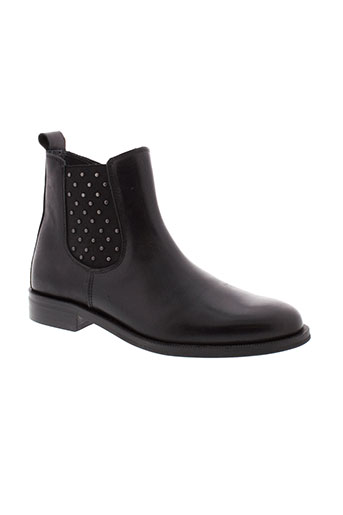 little et mary boots fille de couleur noir