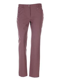 Pantalon casual marron FELINO pour femme