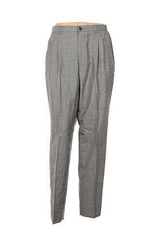 philippe adec pantalons femme de couleur gris