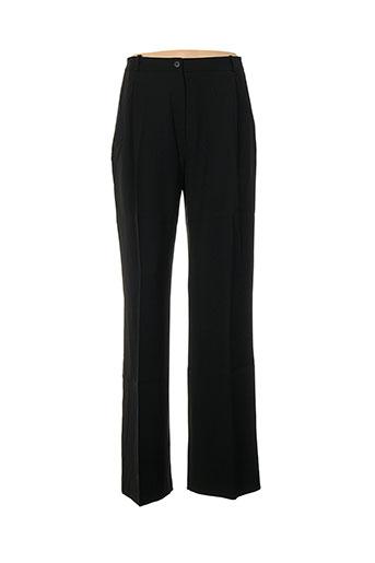 Pantalon casual noir DIAPOSITIVE pour femme