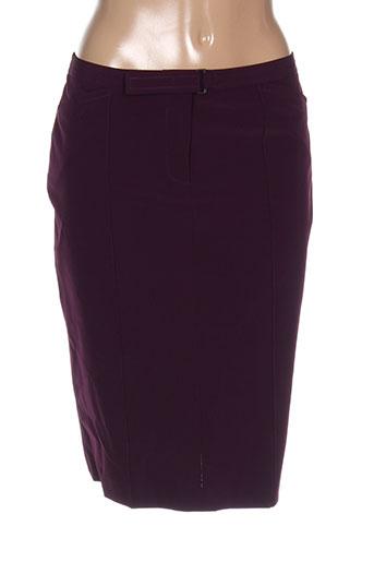 Jupe mi-longue violet ET VOUS pour femme