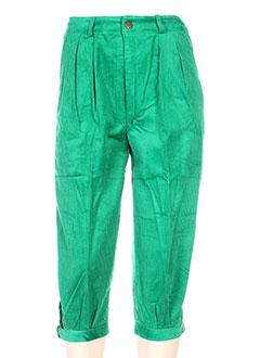 Corsaire vert PERKIN'S pour femme