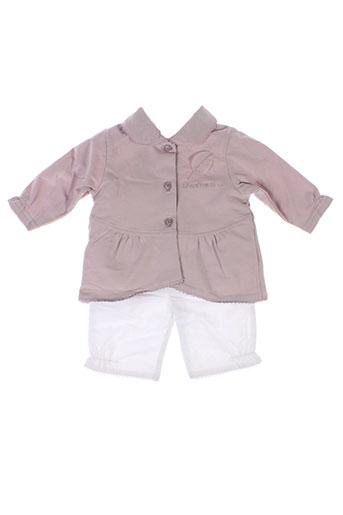 wiplala t et shirt et pantalon fille de couleur violet