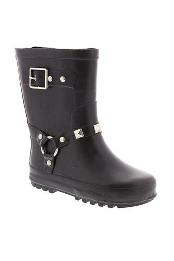 meduse chaussures fille de couleur noir