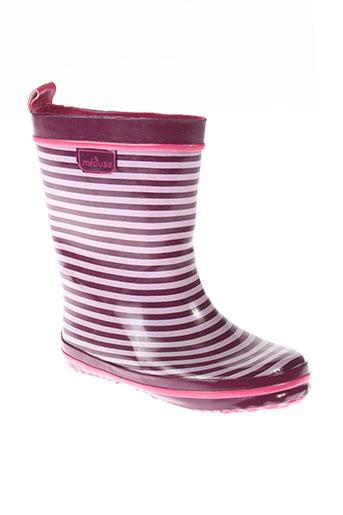 meduse chaussures fille de couleur violet