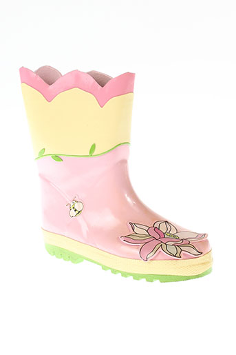 kidorable chaussures fille de couleur rose