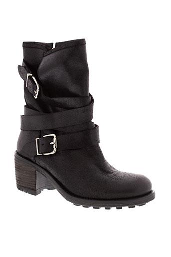 see bee chaussures femme de couleur noir