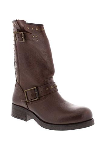 koah bottes femme de couleur marron