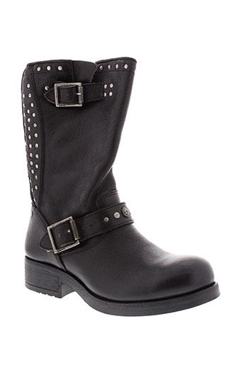 koah bottes femme de couleur noir