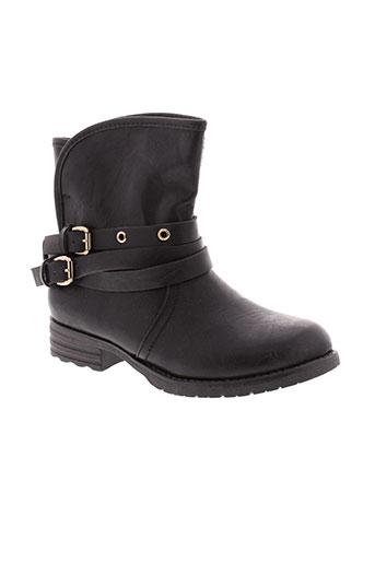 xti chaussures fille de couleur noir