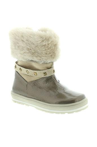 ciao bimbi chaussures fille de couleur beige