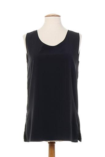carole richard chemises femme de couleur noir