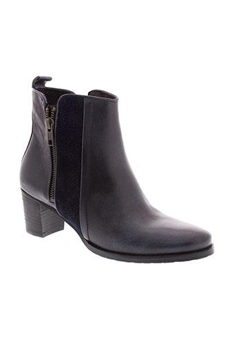 fidji boots femme de couleur bleu