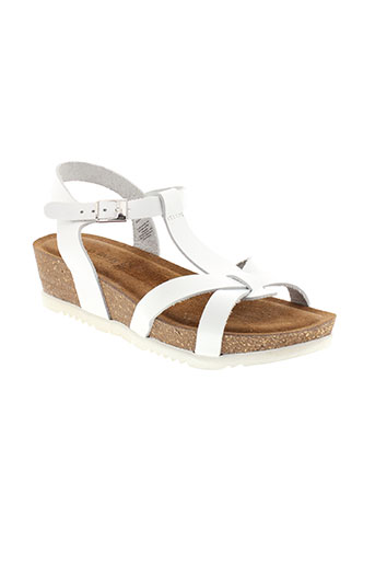 marco et tozzi sandales et nu et pieds femme de couleur blanc