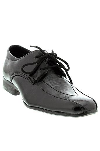 alizea chaussures garçon de couleur noir