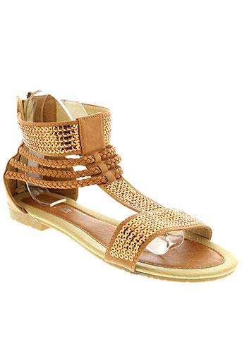 cink-me chaussures femme de couleur marron
