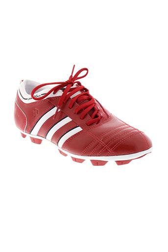 adidas chaussures enfant de couleur rouge