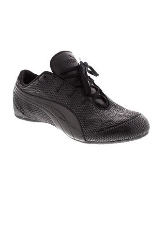 puma baskets homme de couleur noir