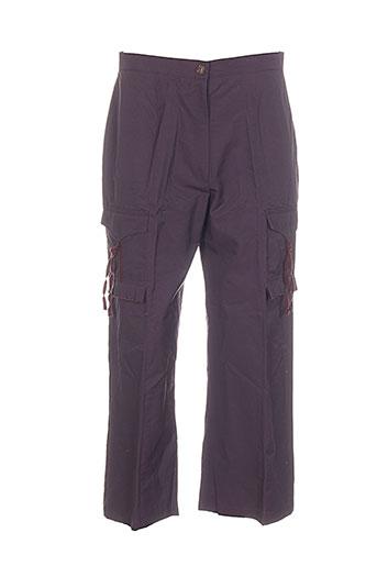 christine laure pantacourts femme de couleur violet