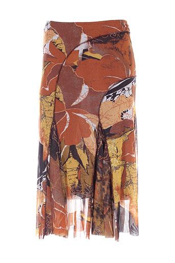 opaline jupes femme de couleur marron